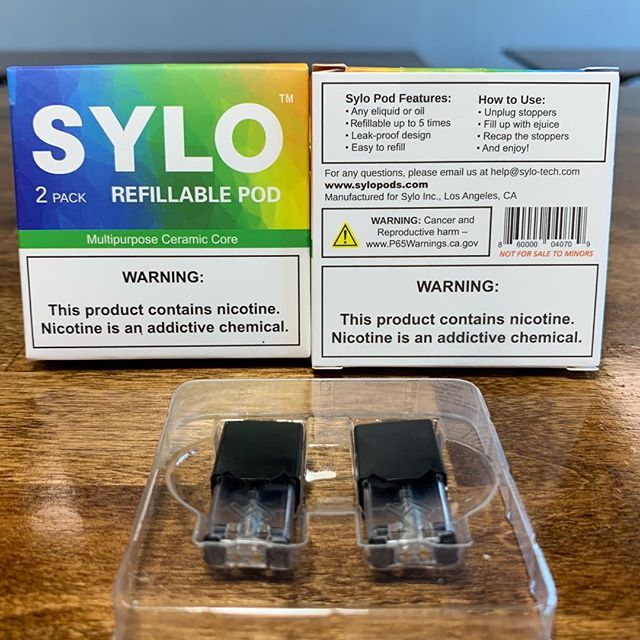Sylo refillable (5x) ceramic #juul pods now in stock at both locations | —————————————————- #Nicsalt | #Vaping | #VapeLife | #VapeOn | #Vapestagram | #VapeDaily | #VapeNation | #Vaper | #QuitSmoking | #NHVaper | #NewEnglandVaper | #WorldWideVapers | #VapeLyfe | #INSIV | #NotBlowingSmoke | #VapingSavedMyLife | #SmokeFree | #VapeLife | #FuckBigTobacco | #NotForKids