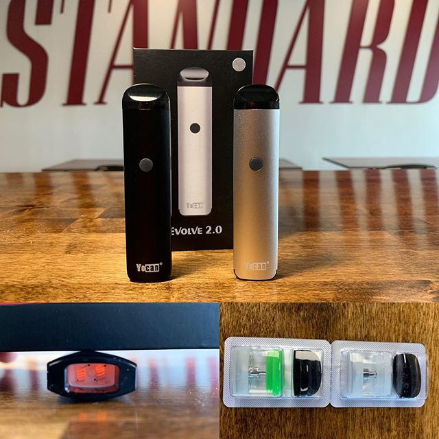 Exciting new device from Yocan has arrived at both locations. The Evolve 2.0 comes with a refillable salt nic pod, refillable thick oil pod, double quartz coiled pod & 3 temp settings!—————————————————- #Nicsalt | #Vaping | #VapeLife | #VapeOn | #Vapestagram | #VapeDaily | #VapeNation | #Vaper | #QuitSmoking | #NHVaper | #NewEnglandVaper | #WorldWideVapers | #VapeLyfe | #INSIV | #NotBlowingSmoke | #VapingSavedMyLife | #SmokeFree | #VapeLife | #FuckBigTobacco | #NotForKids | #plaistow | #portsmouthnh