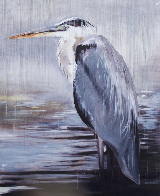 Rainy Heron