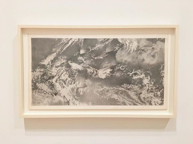 [Vija Celmins / World From Outer Space, 1968] So thrilled that Vija Celmins's art is currently being celebrated @sfmoma.. #vijacelmins #femaleartist #drawing #graphite #printmaker #painter #photograph #spacetravel #repetition #curiosity #detail #lightandshadow #whereareherprints #artadvisor #artcollector #theconsideredcollection