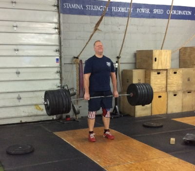 Pat Sheehan - 355lb Deadlift