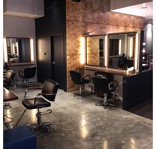 Interior of our Beverly Hills hair salon