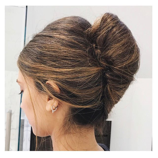 @s.houdinhair makes this messy French twist look easy. We swear she's the Updo Queen. #frenchtwist #updoqueen #hairinspo #hairart #hairstyles #hairartist #welovehair #maximeglamteam #rodeocollection #salonmaxime #beverlyhills #rodeodrive #redkenwindblown #messysexyhair #chic