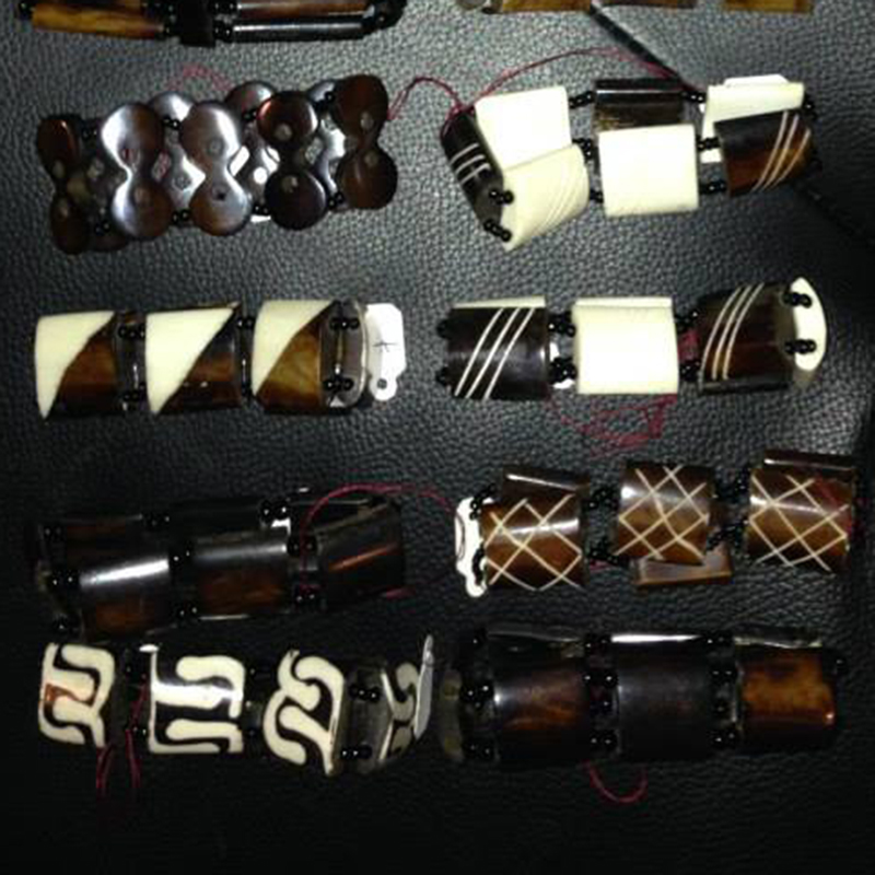 Bracelets   $7.00 (Cash/Cheque) | $8.92 (Credit)   Assorted handcrafted bracelets made from traditional Kenyan materials and each unique in design.