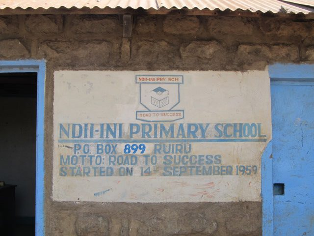 Ndii-ini Primary School.