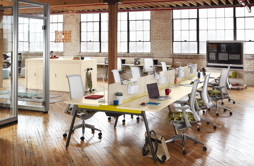 As Less Storage And Surface Area Are Needed Were Seeing Cubicles Offices Reverting Back To More Open Styles