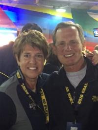 Doug and his wife, Kathy.
