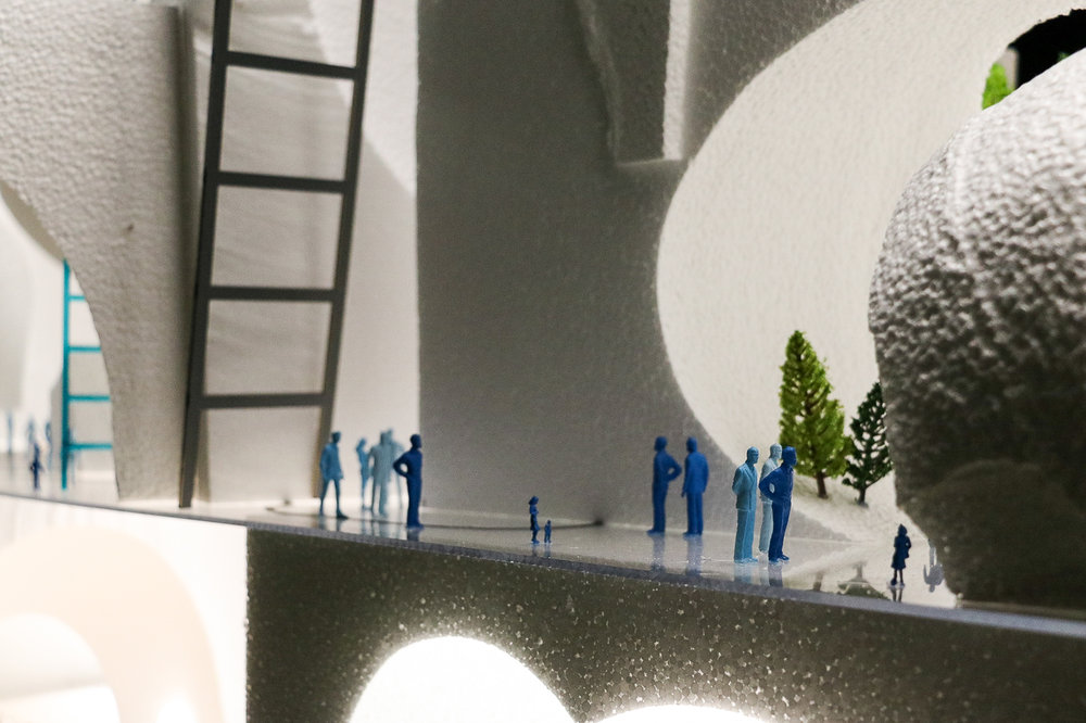 The Underground - Architectural Model (2 of 2)