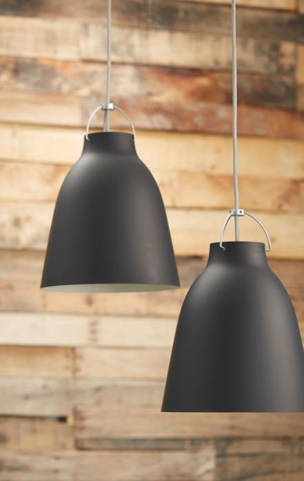 These  Caravaggio Matte  pendants are available in a variety of sizes and finishes making them a perfect understated addition to any environment.