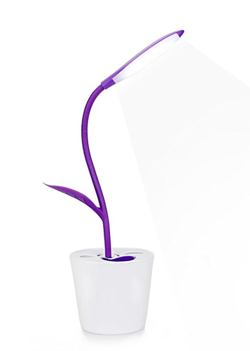 Amazon's iEGrow flexible LED Lamp is a fun pop of Ultraviolet.