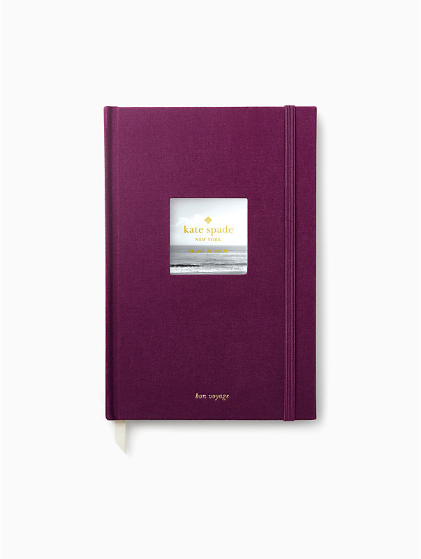 Take a little Ultraviolet wherever you go with this lovely Kate Spade travel journal.