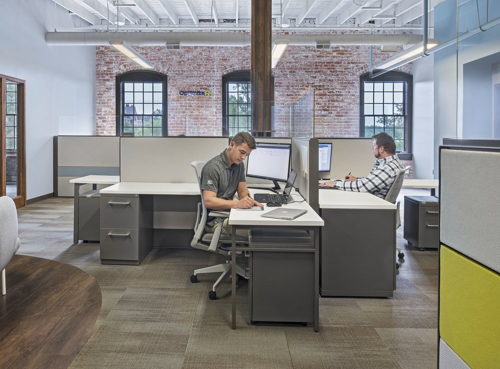 Workstations - Let us help you create the perfect, cohesive space for your team with workstations that work for them. Fully customizable systems allow you to get the privacy and style you need to enchance performance and productivity.