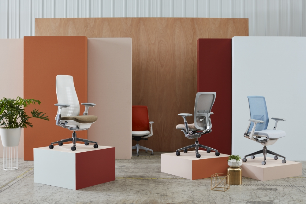 The Haworth Family Of Task Chairs Iscg