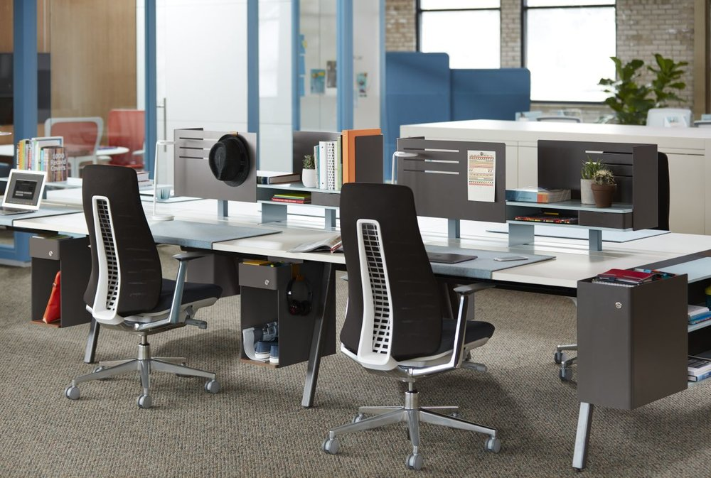 Seating - Comfort, ergonomics, style, and sustainability. We have seating options from countless manufactures to match your style and budget.
