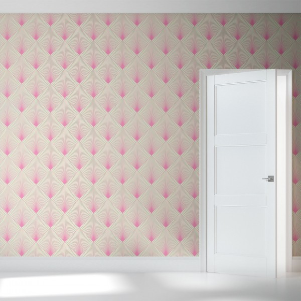 Sweet Liliac may be a little intimidating, but now with the Detroit Wallpaper Company. This local business is providing tons of beautiful wallcovering like Uplift from the Linework collection.