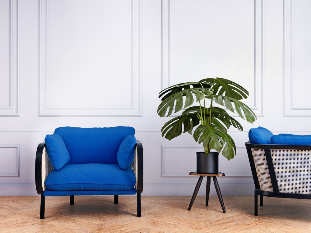 Blue, like this on trend hue of Princess Blue often evoke a sense of calm and serenity. What better place to encourage calm and serenity than in the workplace. Reducing workplace stress can help increase overall wellbeing.