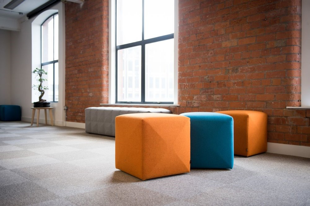 The Buzzicube is a perfect way to incorporate fun colors like Turmeric in your space. The innovative and practical product can be used almost anywhere and