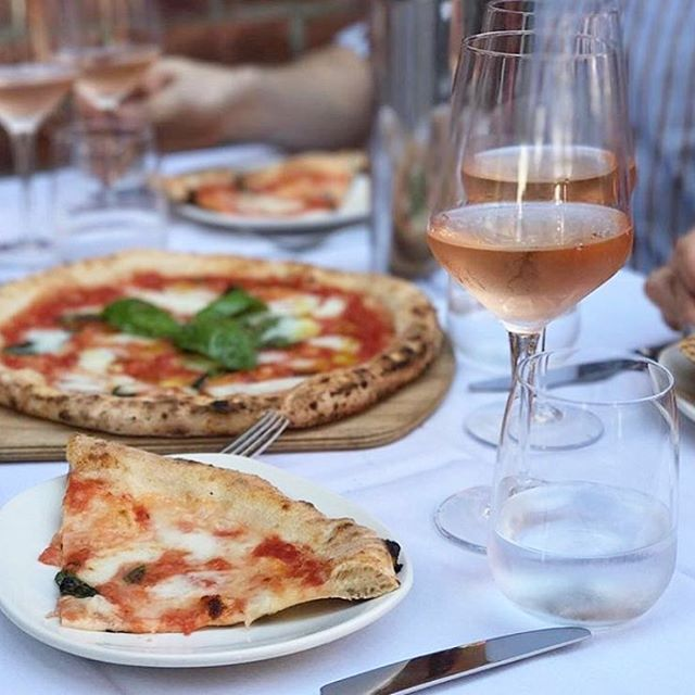 SUMMER SPECIAL: Receive one complimentary Verace Pizza Napoletana with any bottle of wine! 🍕🍷 Available Monday-Thursday, from now until Labor Day. #onlyatrosso