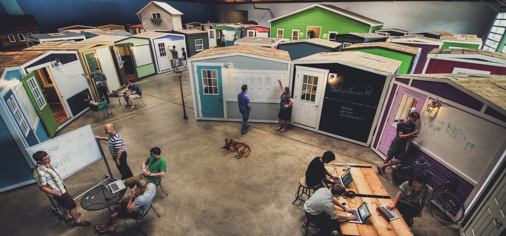 DeveloperTown is a world renowned sought after workspace that facilitates and harnesses innovative thinking. Its dynamic energy will push you to pressure test and launch big ideas.