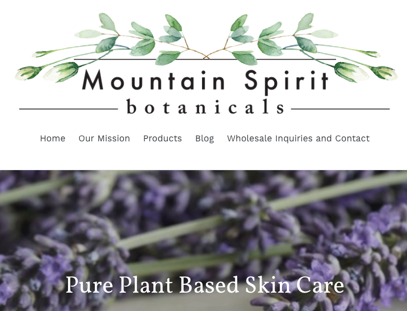 Mountain Spirit Botanicals - All Natural Skin Care