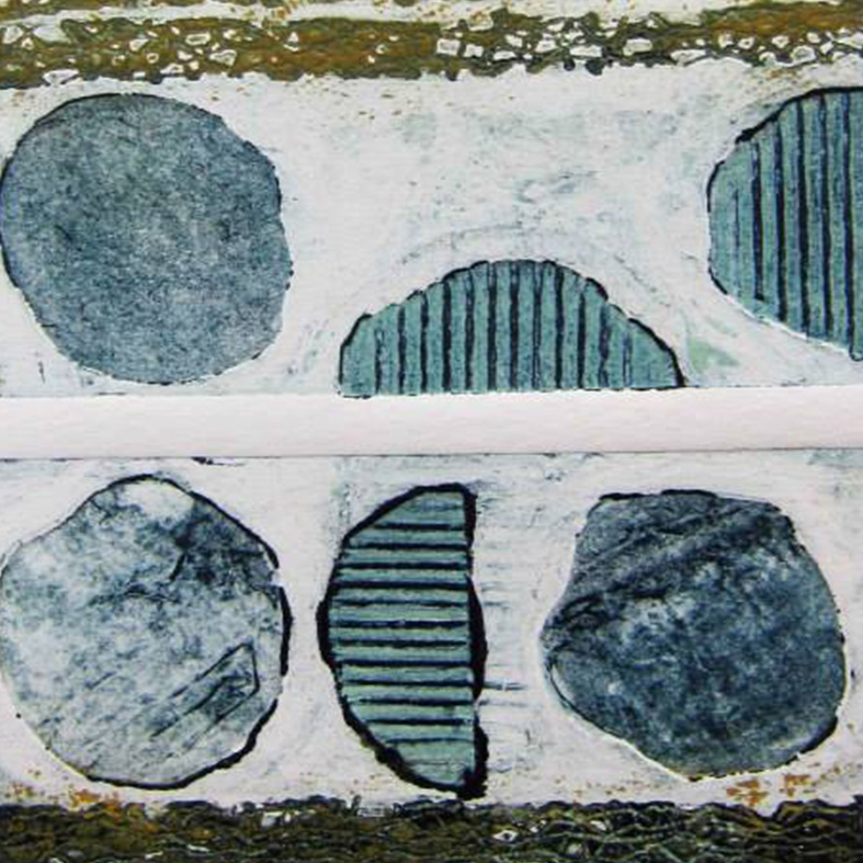 winter-school-collagraph-rosemary-mortimer