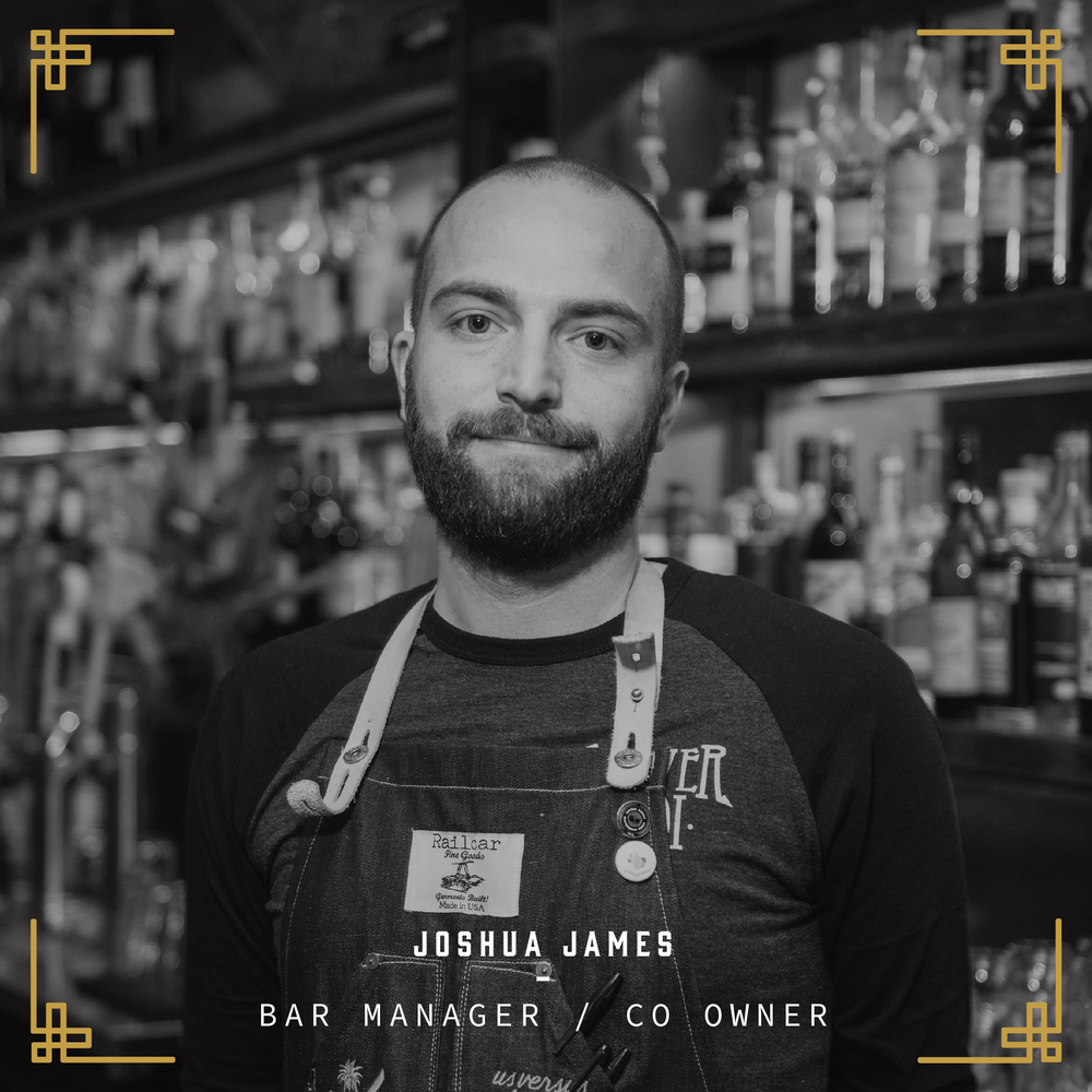 Native to North Central Phoenix, James was compelled by an opportunity to be creative during his tenure with Karl Kopp at AZ/88. While mastering the art of the classic cocktail he understood that restaurants were more than just a place to grab a quick bite - they were an opportunity to engage. As bar manager of The Parlor Pizzeria, James had built one of the most innovative beverage programs in Phoenix - a place where food and drink co-exist in unison and harmony. His recipes have been featured in local magazines such as Phoenix Magazine, Phoenix New Times, AZCentral, and Desert Living.