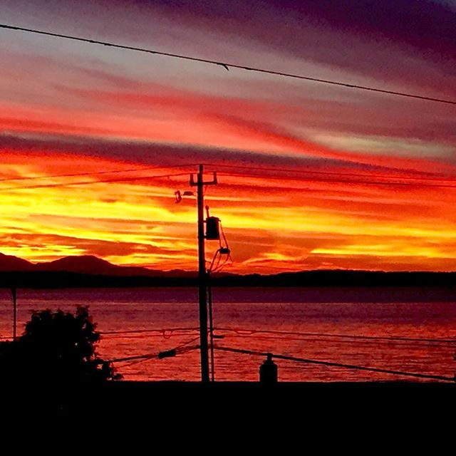 Know anyone that would love falling asleep to this view? For rent in Alki 3 bed/den, 2.5 bath with 2 car side by side garage