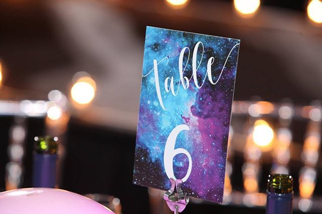 #flashbackfriday to the 2018 @iackids Open Your Hearts Gala in  anticipation for tomorrow. . . . I can't wait for people to see what we've done this year. It's a super fun theme ☺️ Event production by @bella.and.co.events  #graphicdesign #event #eventdesign #gala #forthekids #galaxy #astronaut #design