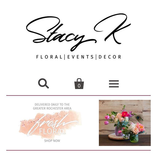 Head over to @stacykfloral for some fresh Spring vibes 😍 new slides added to the website today!