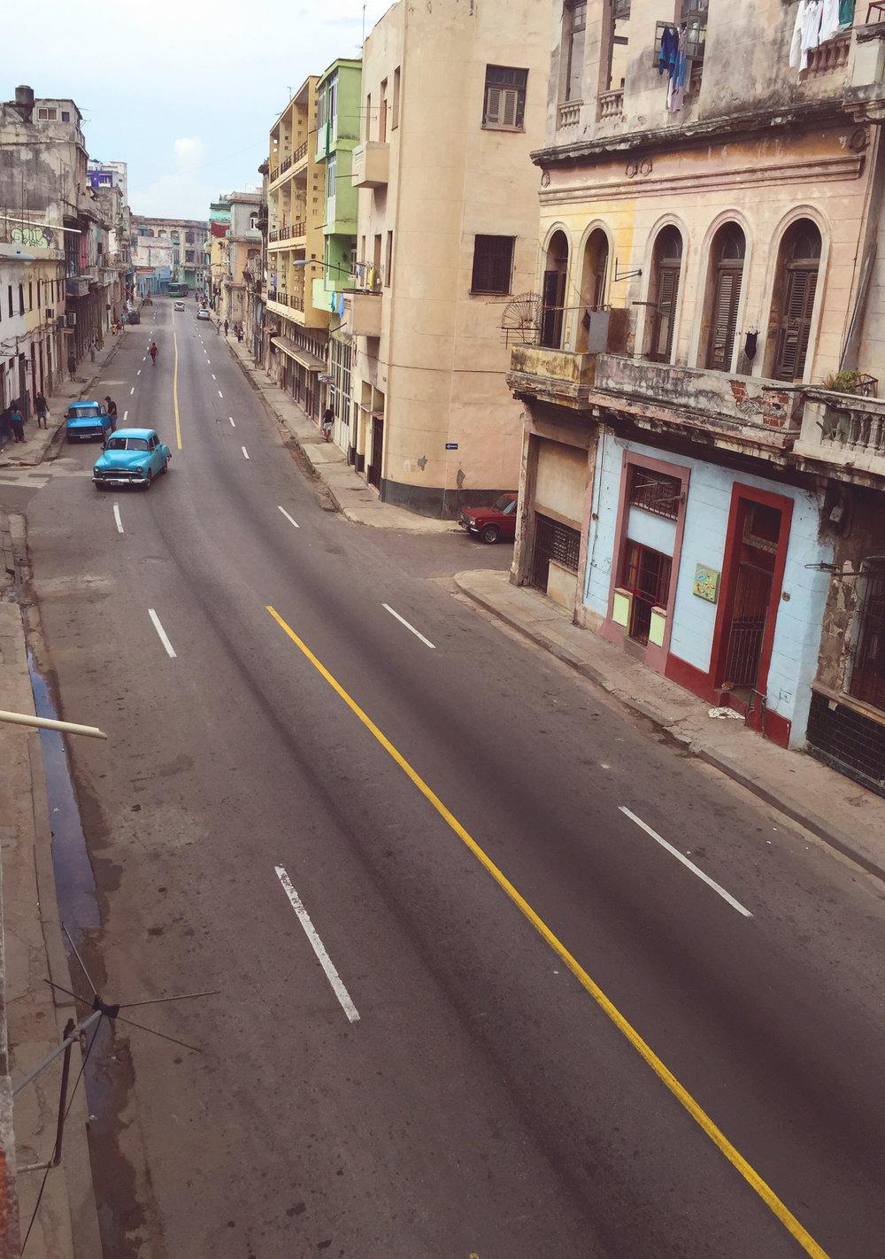 San Lazaro Street Scene