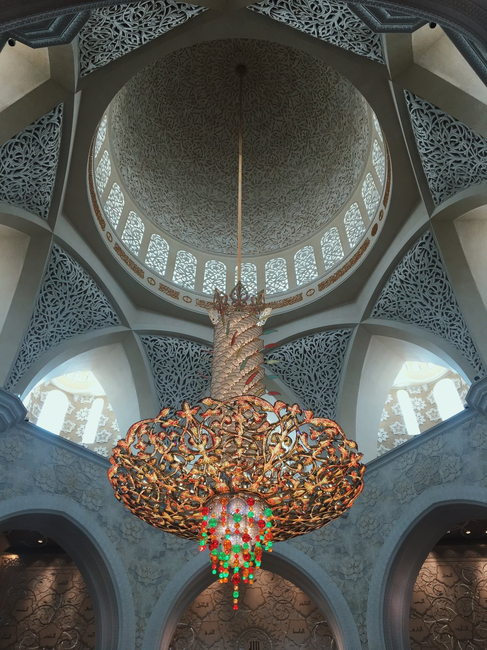 Inside the Grand Mosque