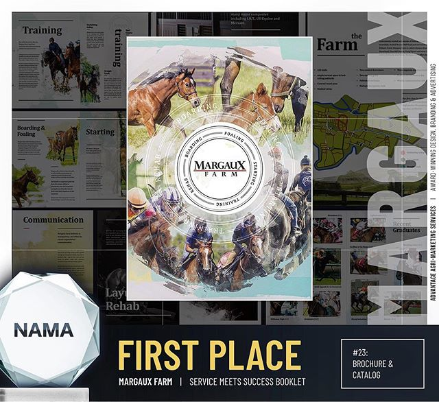 We are thrilled to announce that we've received SEVEN Best of NAMA Awards through the National Agri-Marketing Association! Four 1st-place awards, three 2nd-place awards, and two categories in which our work received both 1st and 2nd-place honors. We would like to thank the 2018 NAMA committee for selecting our work, and our clients for entrusting us to help build their brands and share their messages. See you in Kansas City for the ceremony! #BestofNAMA