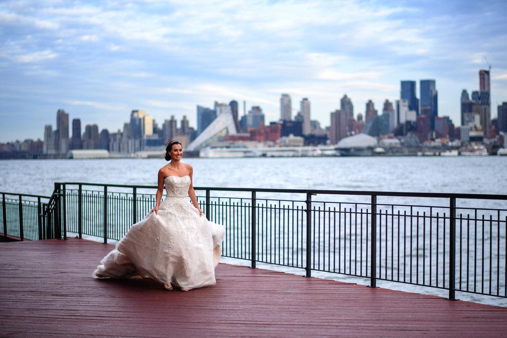 Kim U0026 Liangu0027s NYE Wedding: Chart House, Weehawken NJ