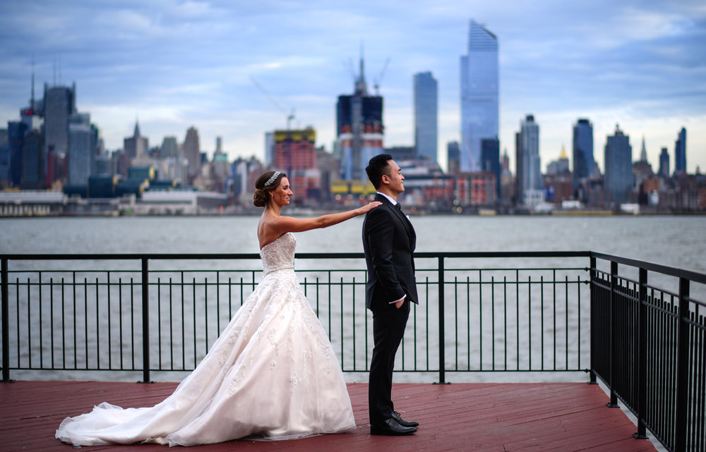 Chart house weehawken wedding pictures