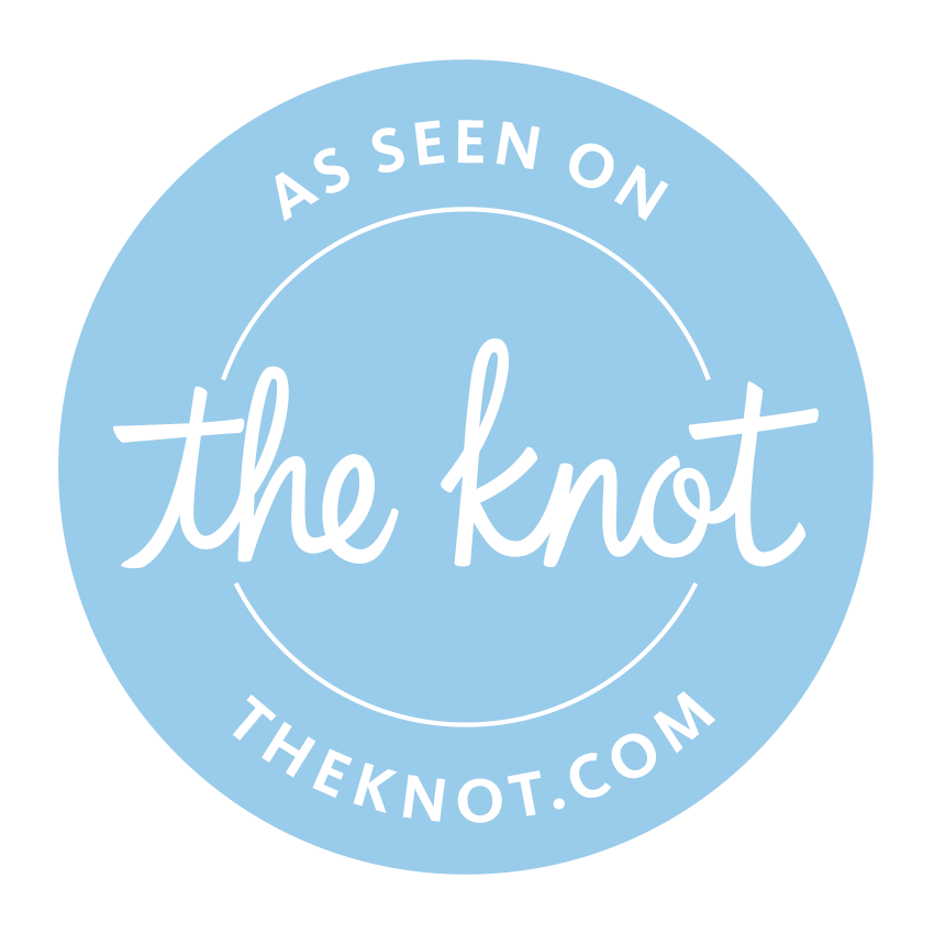 The Front Porch is a vendor for The Knot! - Click on The Knot icon to visit our vendor page of their site.