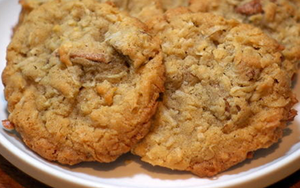 COCONUT PECAN COOKIES  Soft & Delicious, the combination of flavors are sure to please any palate