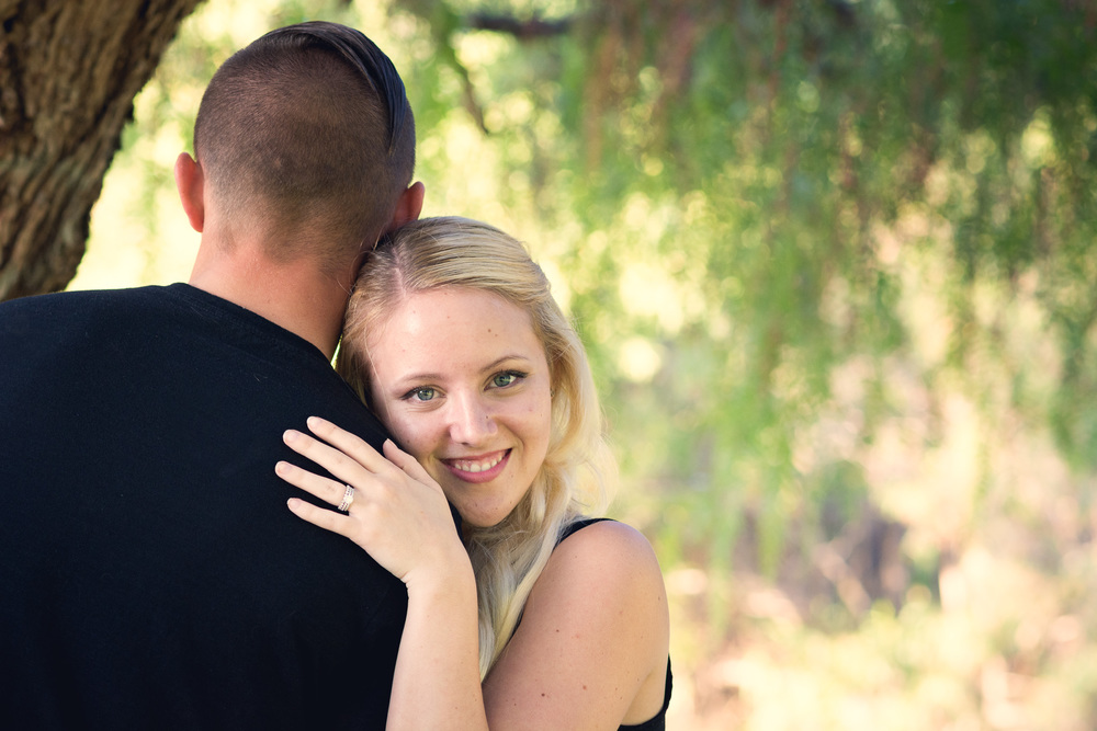 Engagement Photos Taken At Lake Balboa