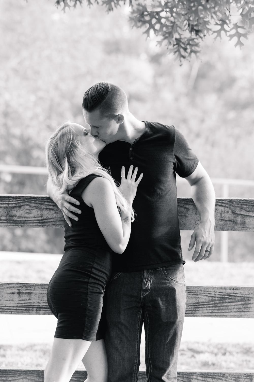 Engagement Photos Taken At Lake Balboa