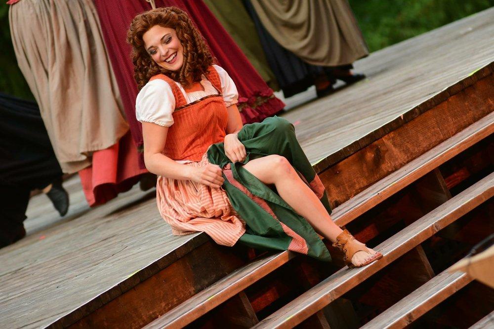 Meg Brockie: Brigadoon (Cedar Rapids Opera Theatre/Brucemore 2018)