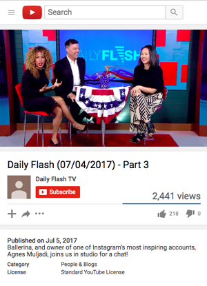 Daily Flash TV, July 2017