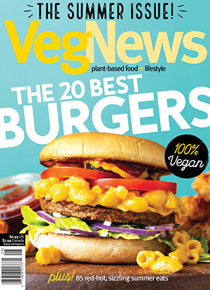 VegNews, July 2018