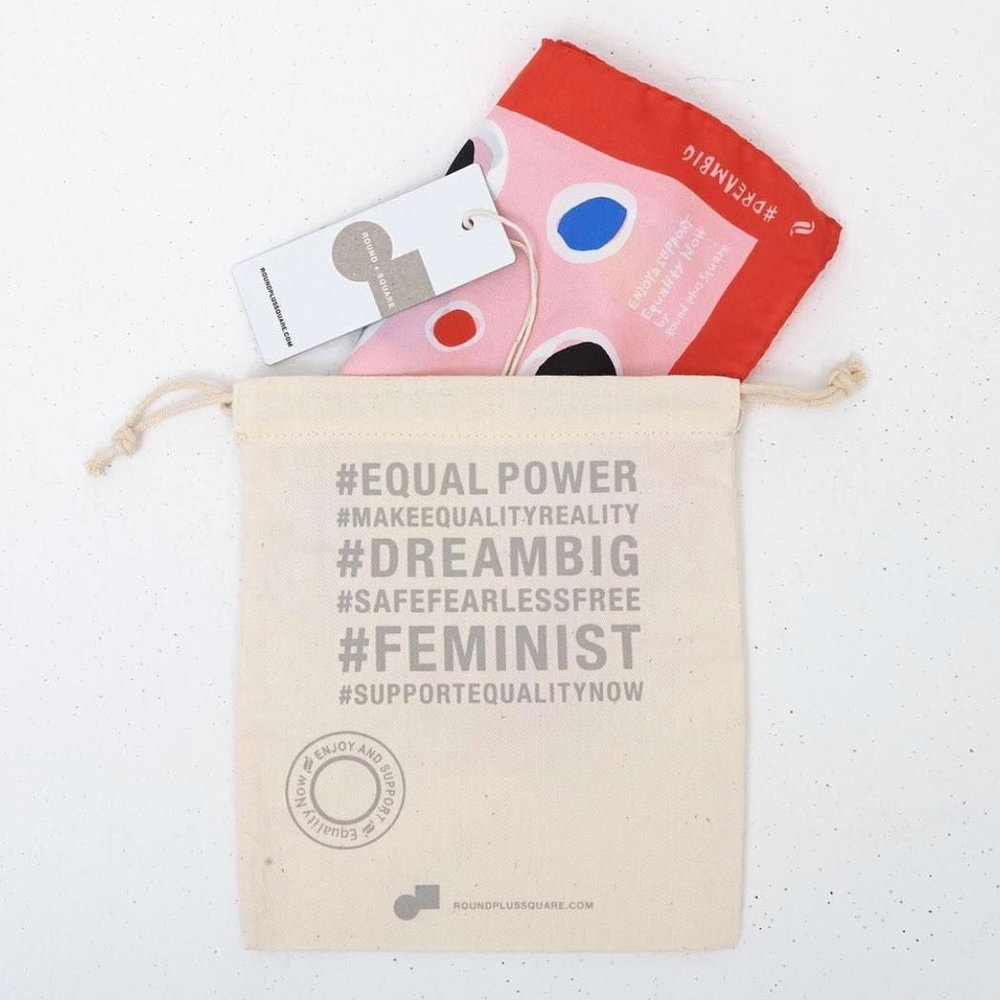 ROUND + SQUARE - Round + Square is a conscious, equal rights fashion brand focused on style, substance and sustainability. 30% of profits benefit the Equality Now Organization.