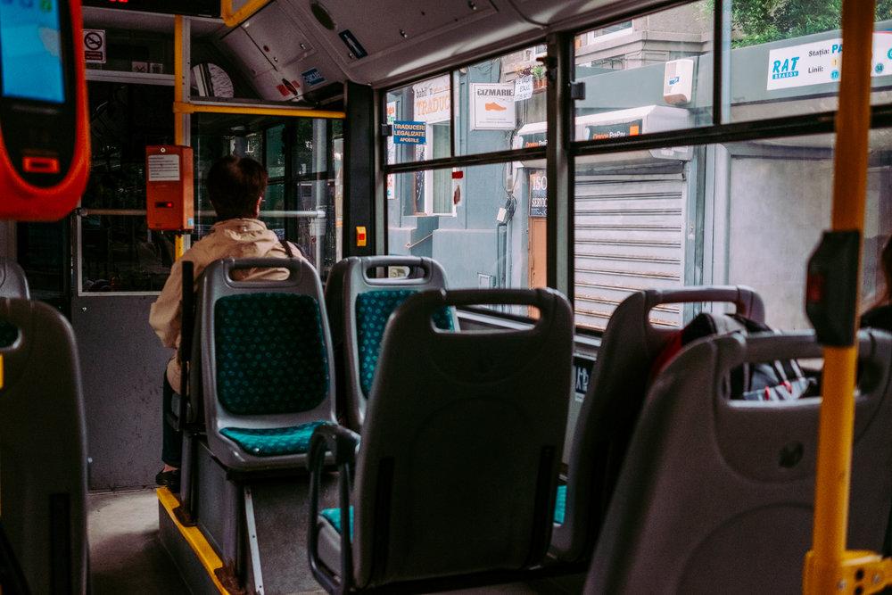 Brasov Bus Inside