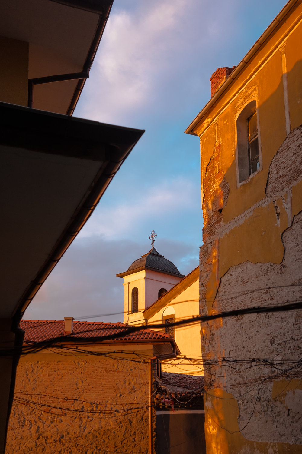 Plovdiv Golden Hour