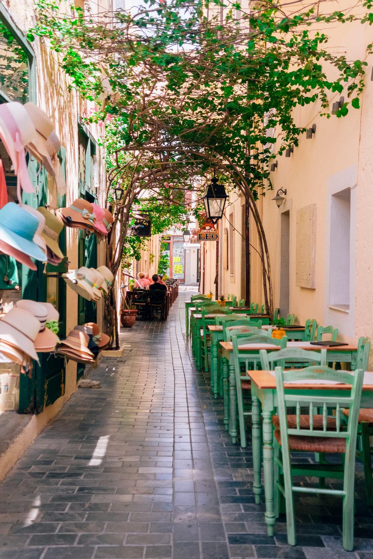 Rethymno cafe life
