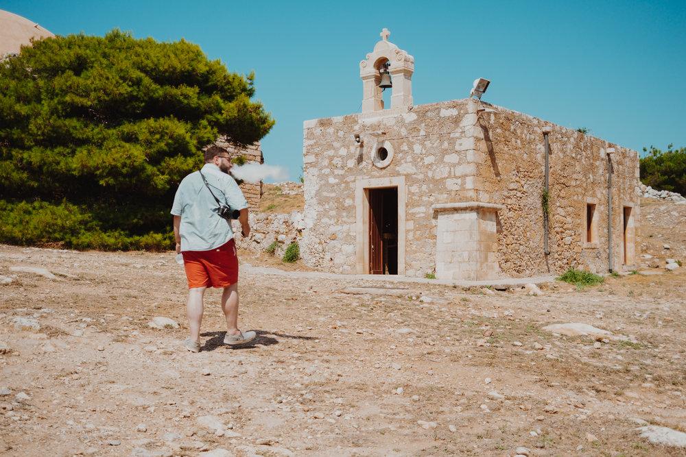 Rethymno fortress chapel