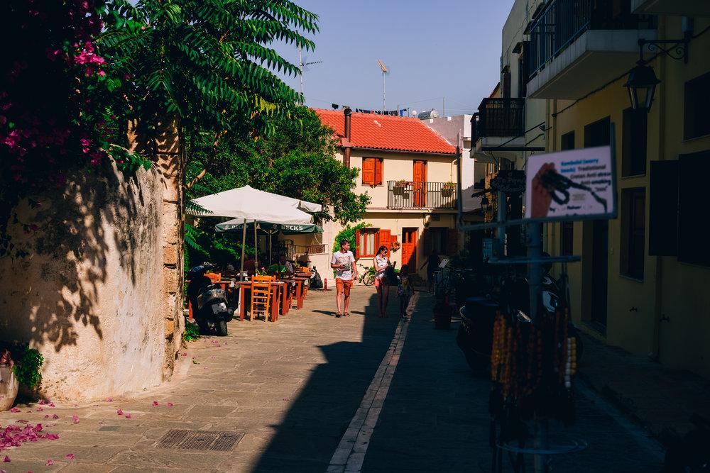 Rethymno streets