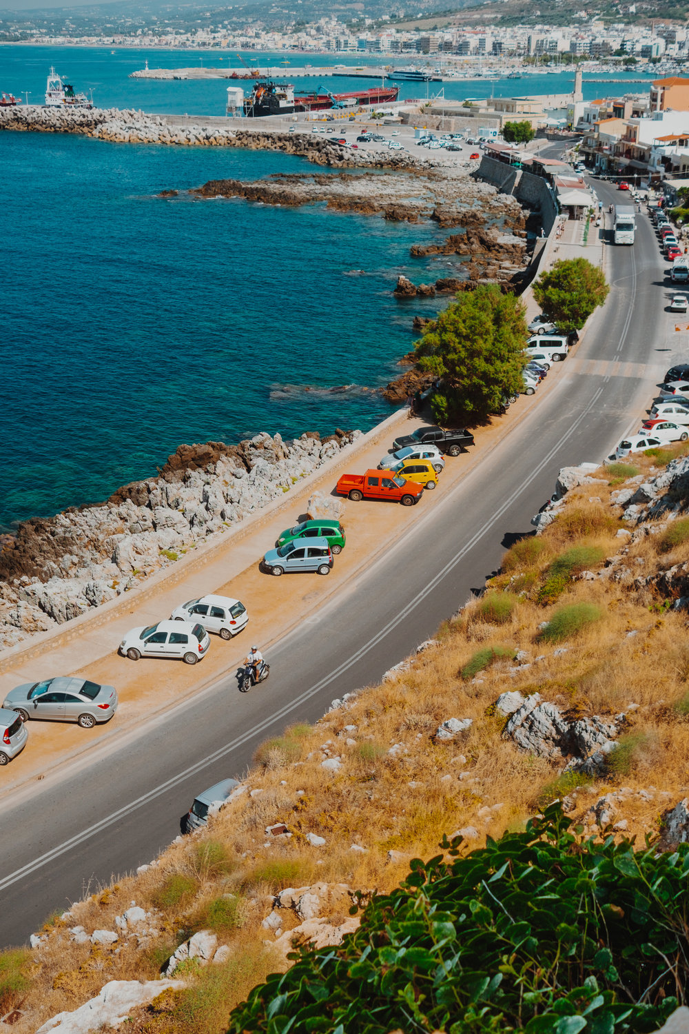 Coastal road Rethymno 2