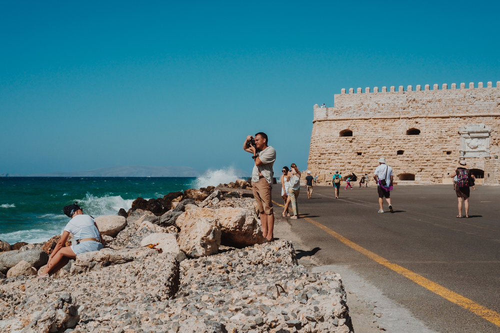 everyones a model - heraklion fort