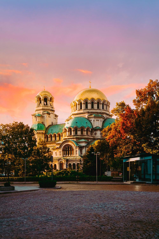 Alexander Nevsky Sunset